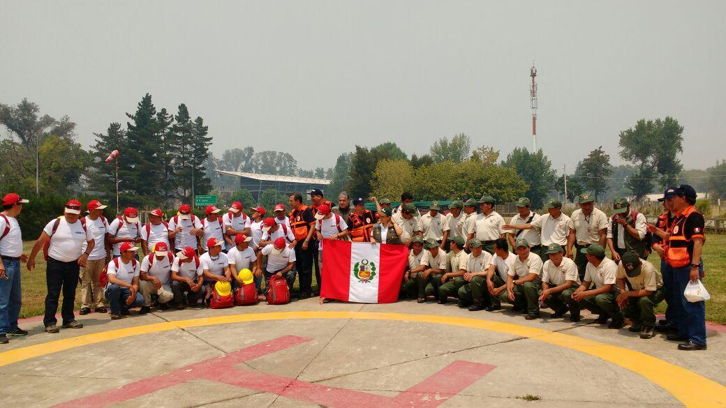 brigadistas peruanos