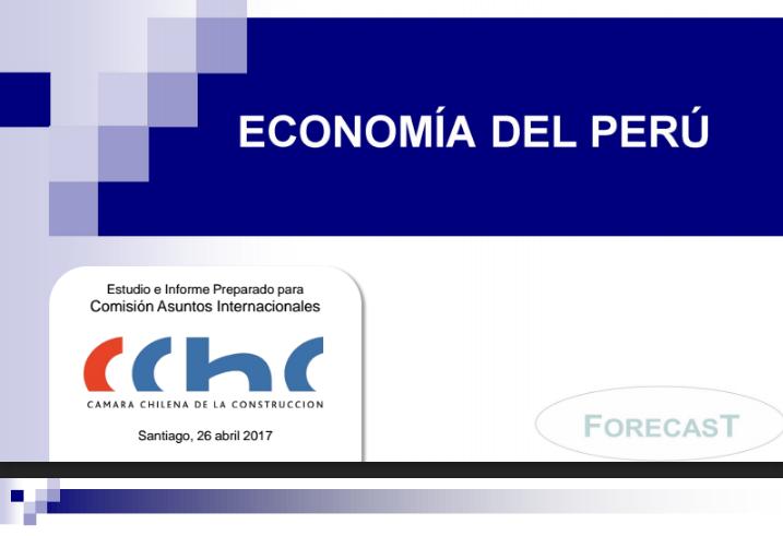Informe Macro Sectorial de Economía del Perú – Marzo 2017