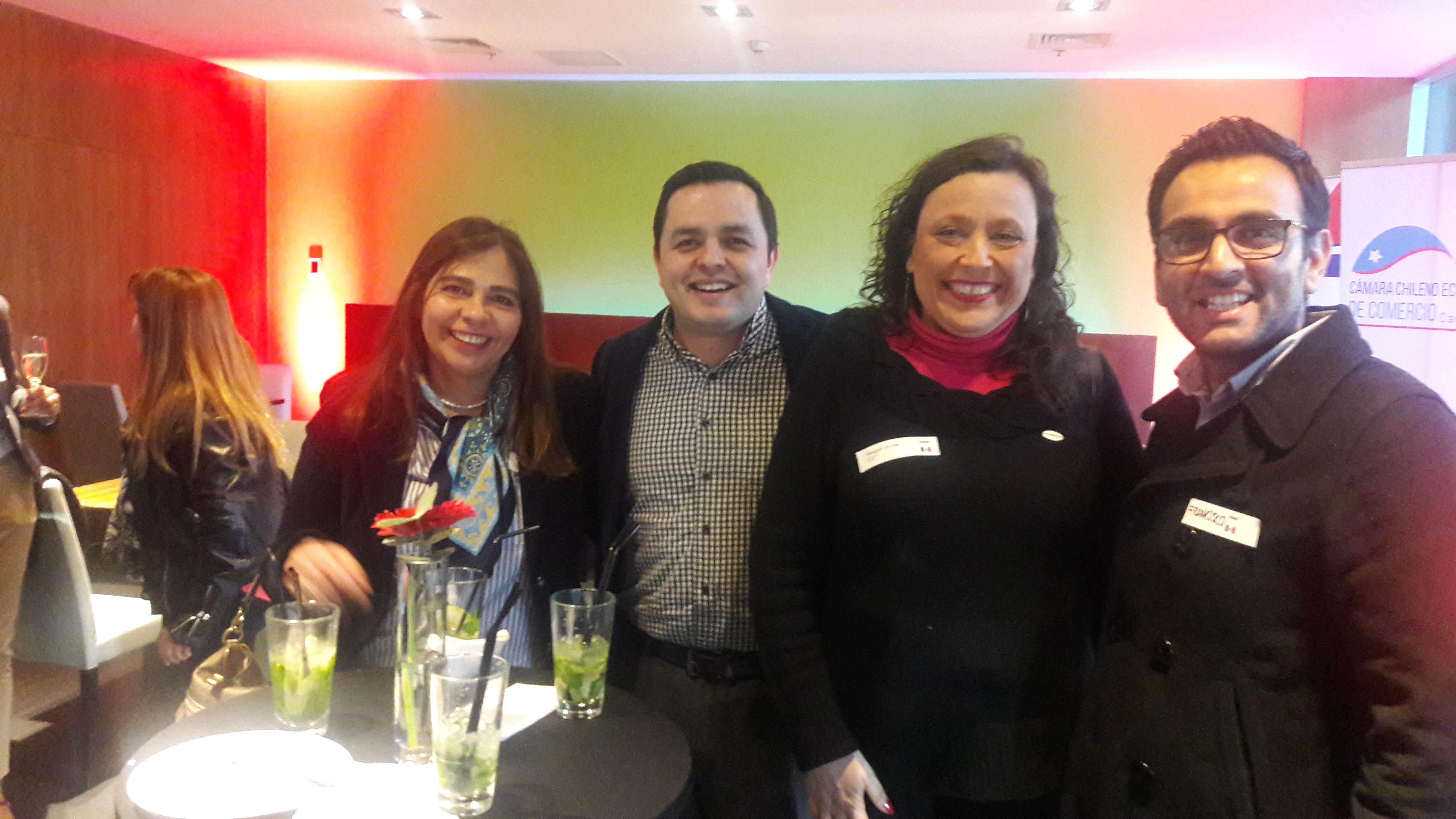 Primer networking de las Latinocámaras