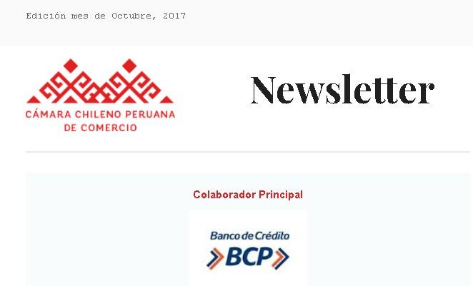 newsletter octubre 2017