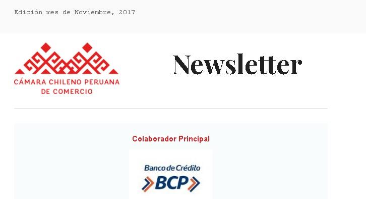 Newsletter Noviembre 2017