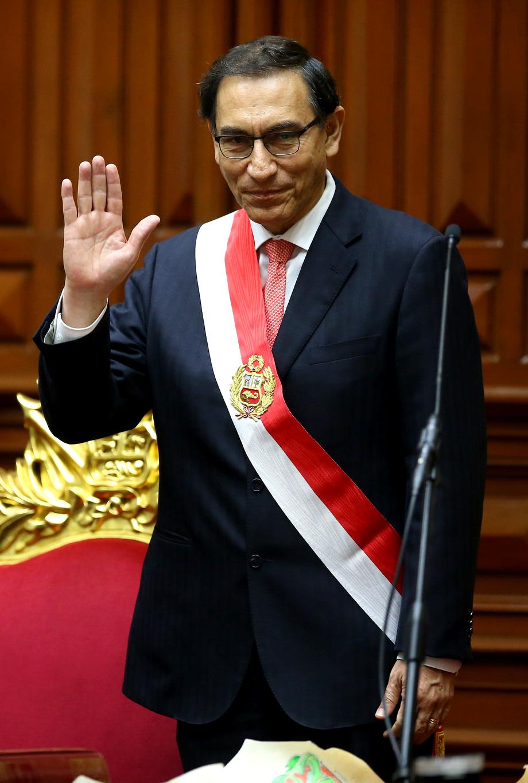 Martín Vizcarra, nuevo Presidente Constitucional del Perú