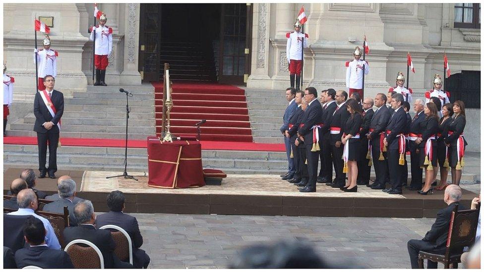 Nuevo gabinete del Presidente Vizcarra